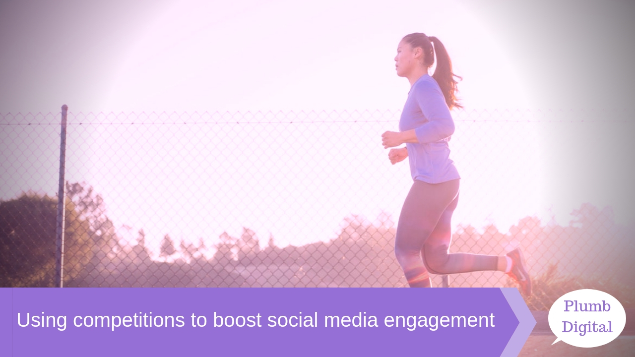 Using competitions to boost social media engagement