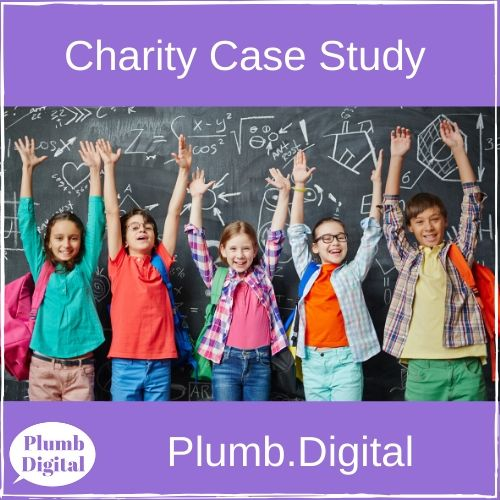 Charity Case Study from Plumb Digital